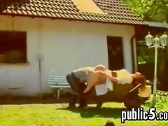 German Couple On A Farm Fucking