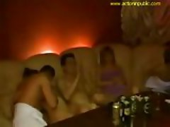Private swinger orgy taped