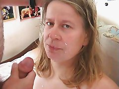 Swedish hooker gets facial