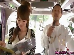 Crazy asian girls have hot bus tour 1 part3