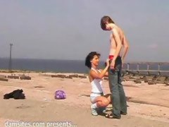 russian amateurs fucking outdoors 2