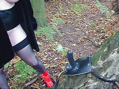 Dildo In The Woods